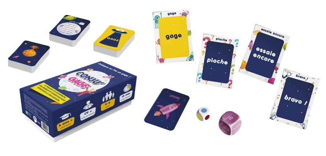 Conju'Gage, le premier jeu de conjugaison coopératif