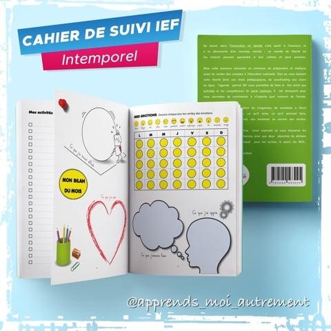 agenda spécial IEF - cahier de suivi