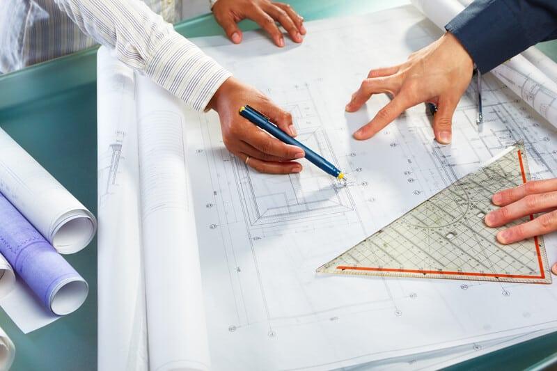 géométrie et métier d'architecte