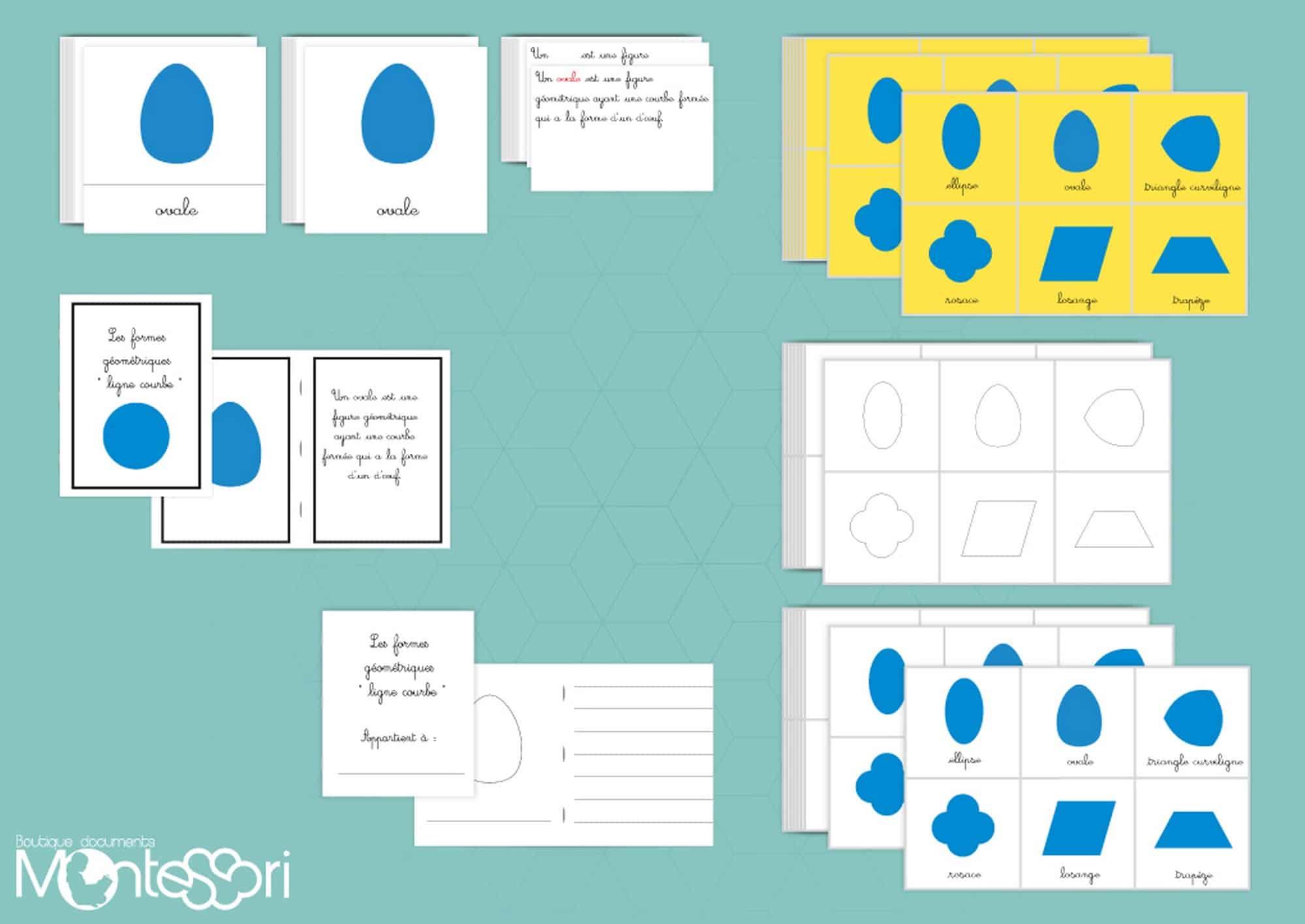 cabinet de géométrie Boutique Document Montessori