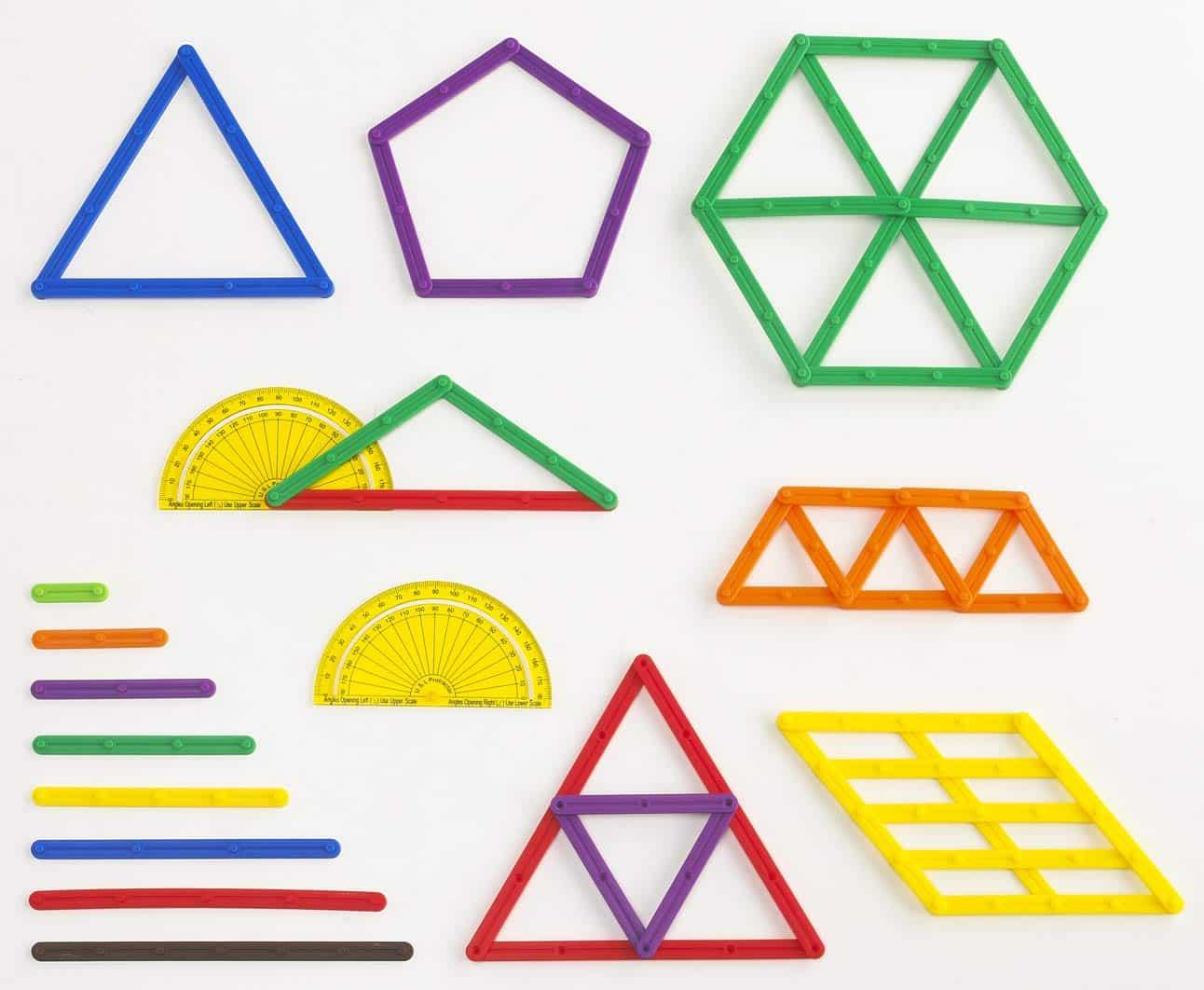 geostix barrettes de géométrie