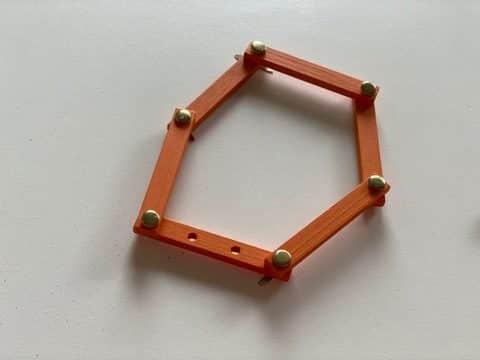 hexagone régulier - figures planes géométriques