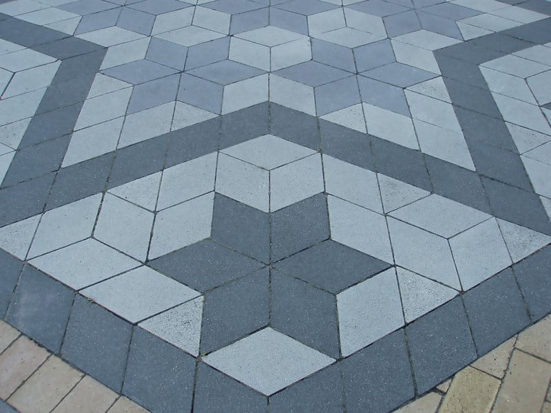 pavage losange - figure geometrique