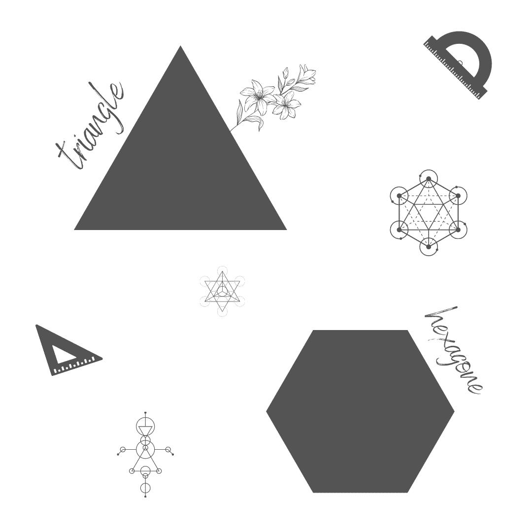 polygones - - figures planes géométriques