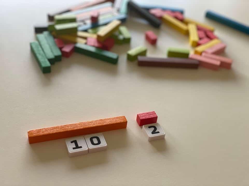 Représenter des nombres avec les réglettes Cuisenaire