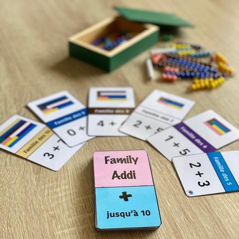 family addi - réglettes montessori