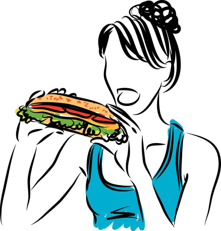 maman sandwich alimentation